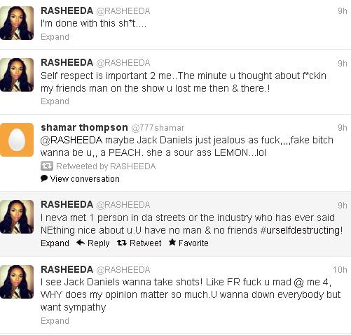 K Michelle And Rasheeda Rasheeda Exposes K  Michelle