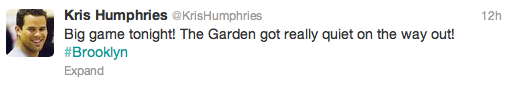 kris humphries jr smith beef